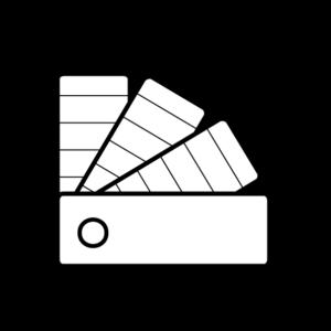 geeridee icoon 3d interieurontwerp vector