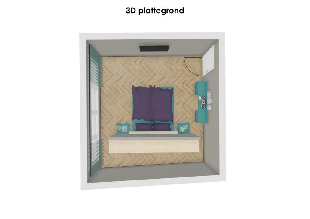 Slaapkamer-3Dontwerp-Geeridee