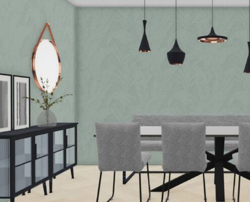 Dit ontwerp is gemaakt in samenwerking met Woninginrichting aan huis Alexandrium