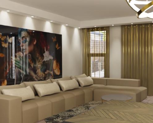 hotel chique geeridee interieurontwerp 3d
