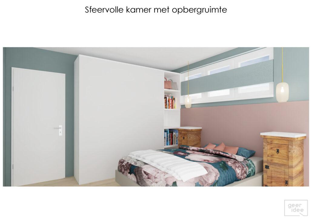 bont interieur kleurrijk interieur geeridee 3d interieurontwerp